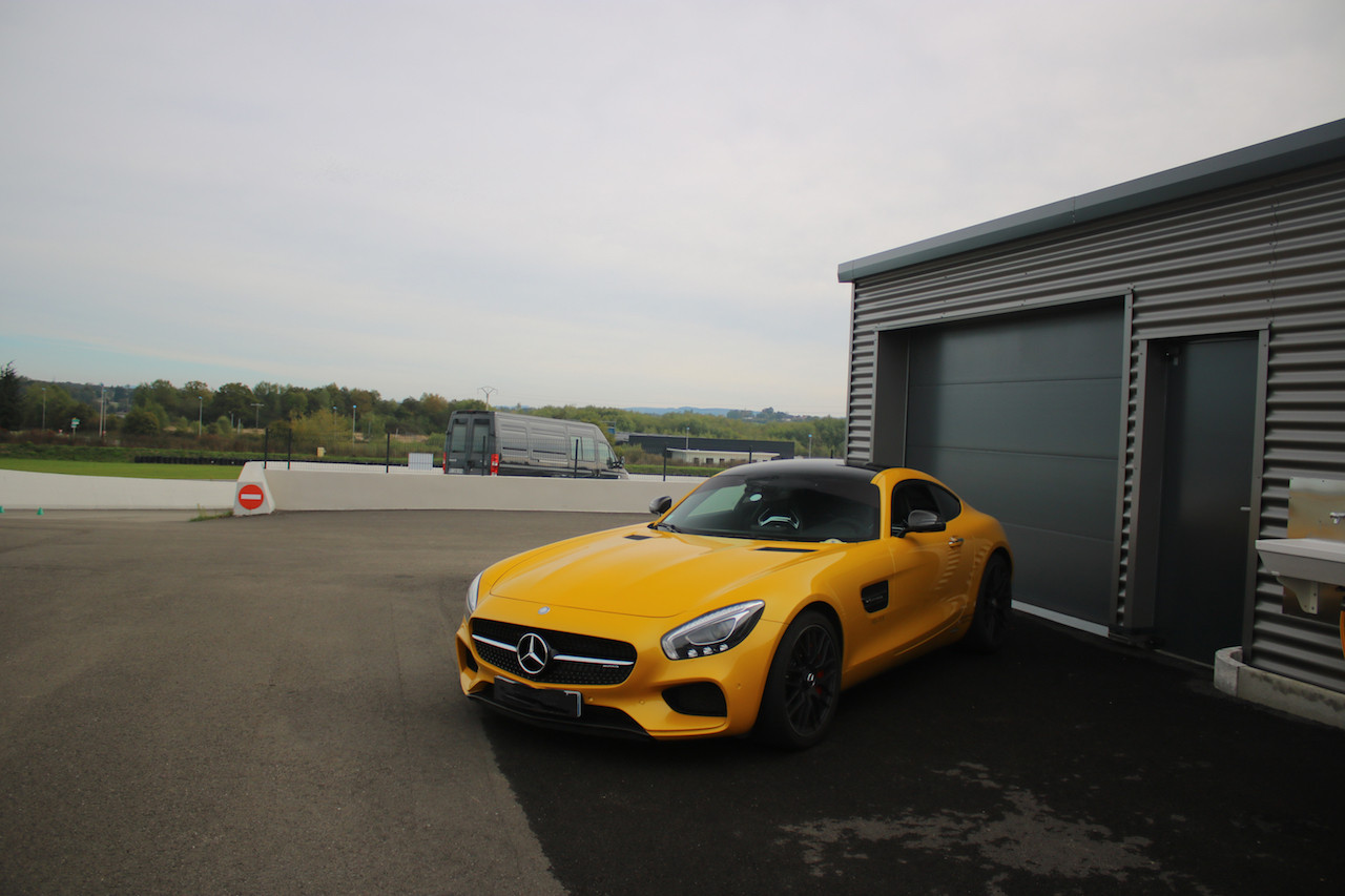 Stage pilotage Mercedes AMG GTS - Loheac