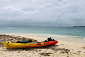 Excursion en Kayak vers l'îlet du Gosier en Guadeloupe