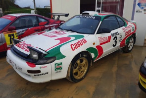 Stage de pilotage rallye Toyota Celica - proche Bourges