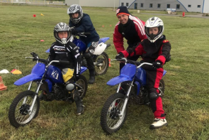 Stage Initiation Pilotage Moto Enfant - Circuit d'Écuyers