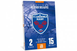 Coffret cadeau - FC Grenoble Rugby