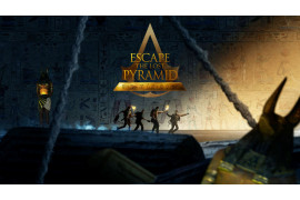 Escape Room Virtuel Center Paris - Escape the lost pyramid - Escape Game VR - Île-de-France - 2 à 1 joueurs