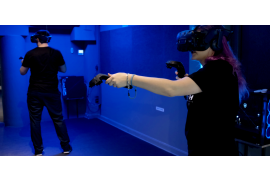 Escape Room Virtuel Center Vannes - Arcade VR 25 mn - 2 casques - Bretagne - 1 à 2 joueurs