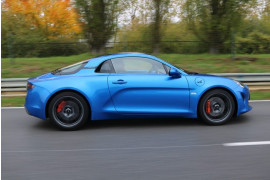 4 tours en ALPINE A110 S - Chambley (54)