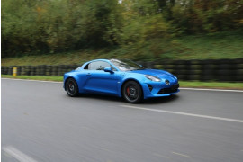 4 tours en ALPINE A110 S - Ecuyers (02)