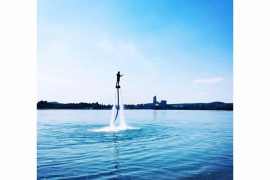 Session de FlyBoard 10 minutes proche Montalieu