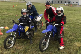 Stage Initiation Pilotage Moto Enfant - 2h30 - Circuit d'Écuyers (02)