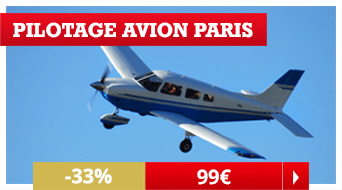 Pilotage avion Paris Noël